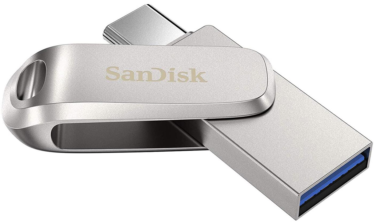 Pendrive SanDisk Ultra Dual Drive Luxe USB-C 128 GB
