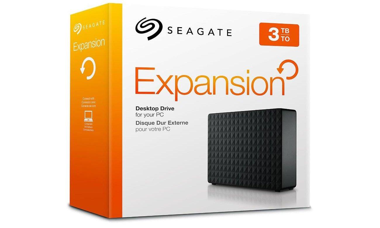 Seagate 3TB Expansion 3,5'' czarny USB 3.0