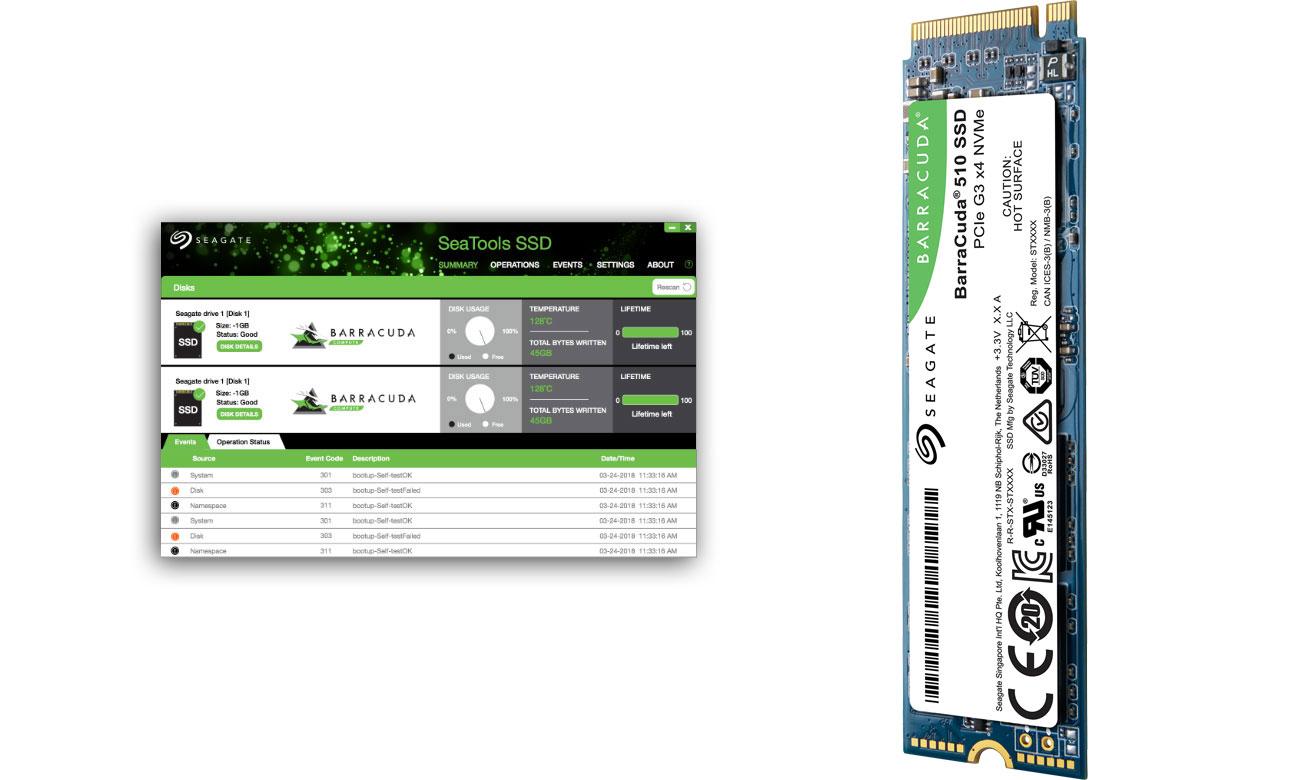 Seagate BarraCuda - SeaTools SSD