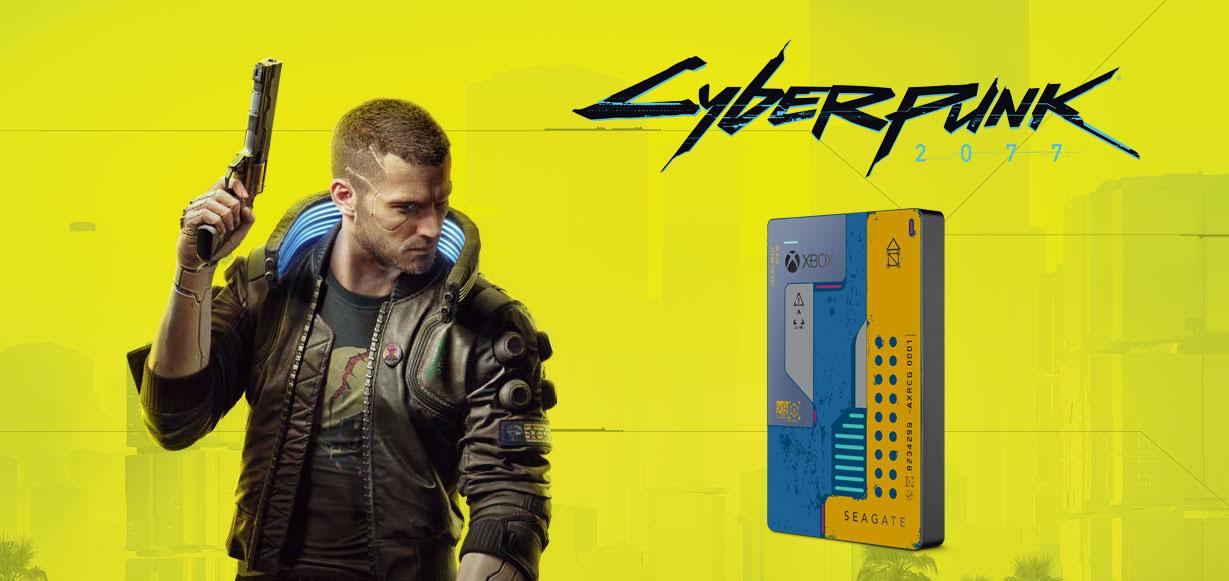 Seagate Game Drive Cyberpunk 2077 2TB USB 3.0 STEA2000428