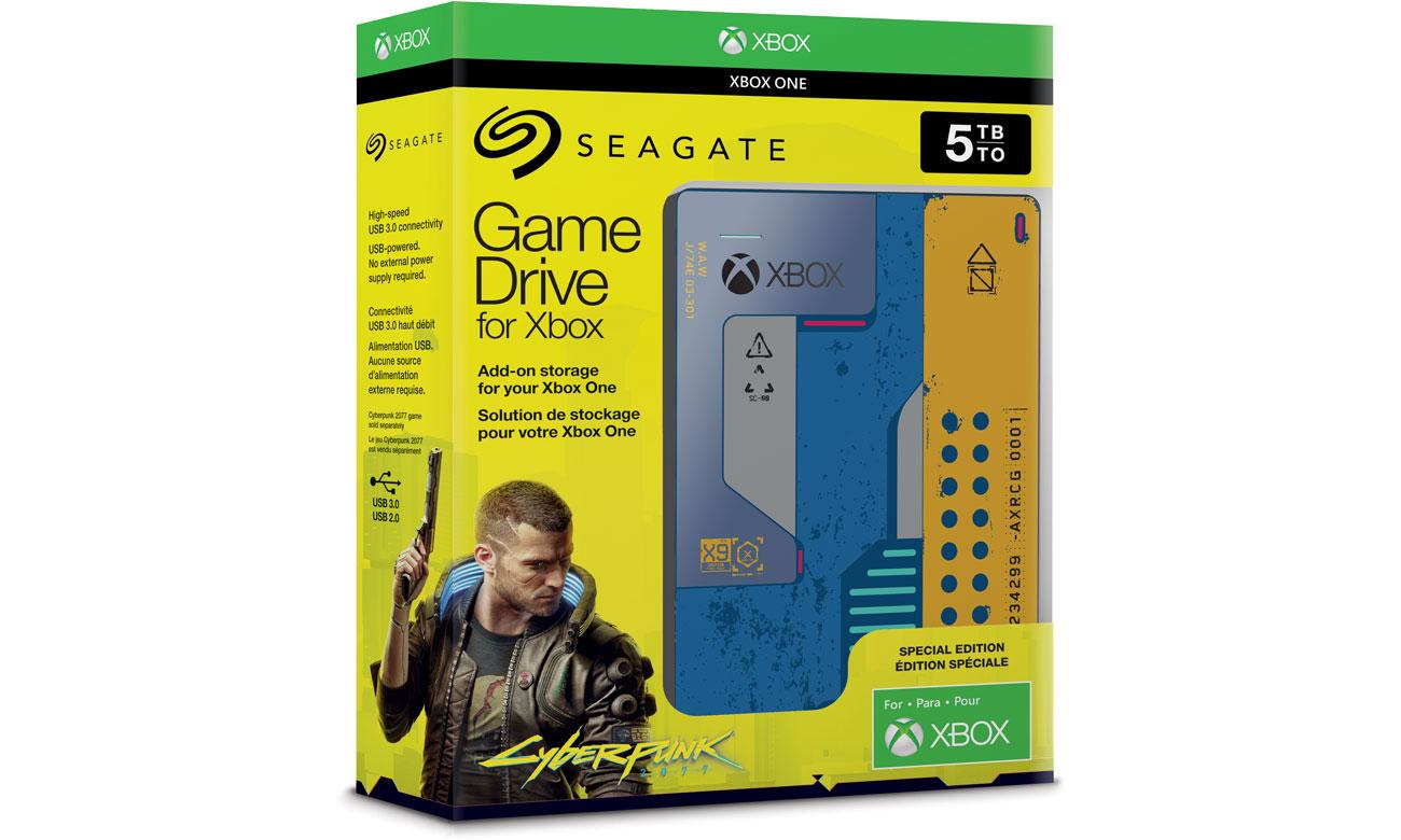 Seagate Game Drive Cyberpunk 2077 5TB USB 3.0 STEA5000404