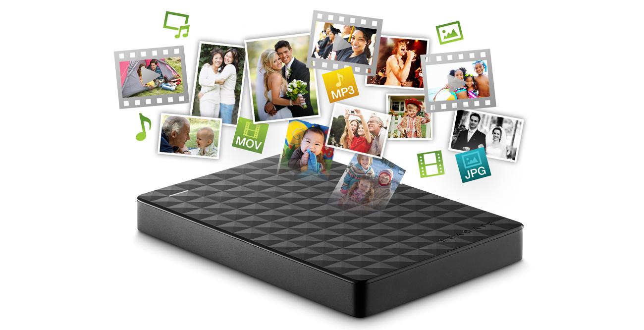 Seagate 3TB Expansion 2,5'' czarny USB 3.0 STEA3000400