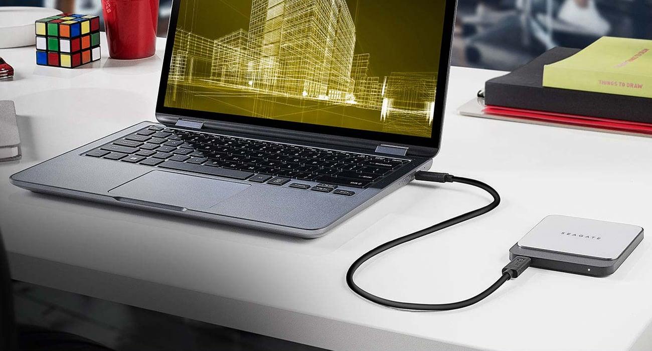 Seagate Fast SSD Elegancki i odporny na wstrząsy