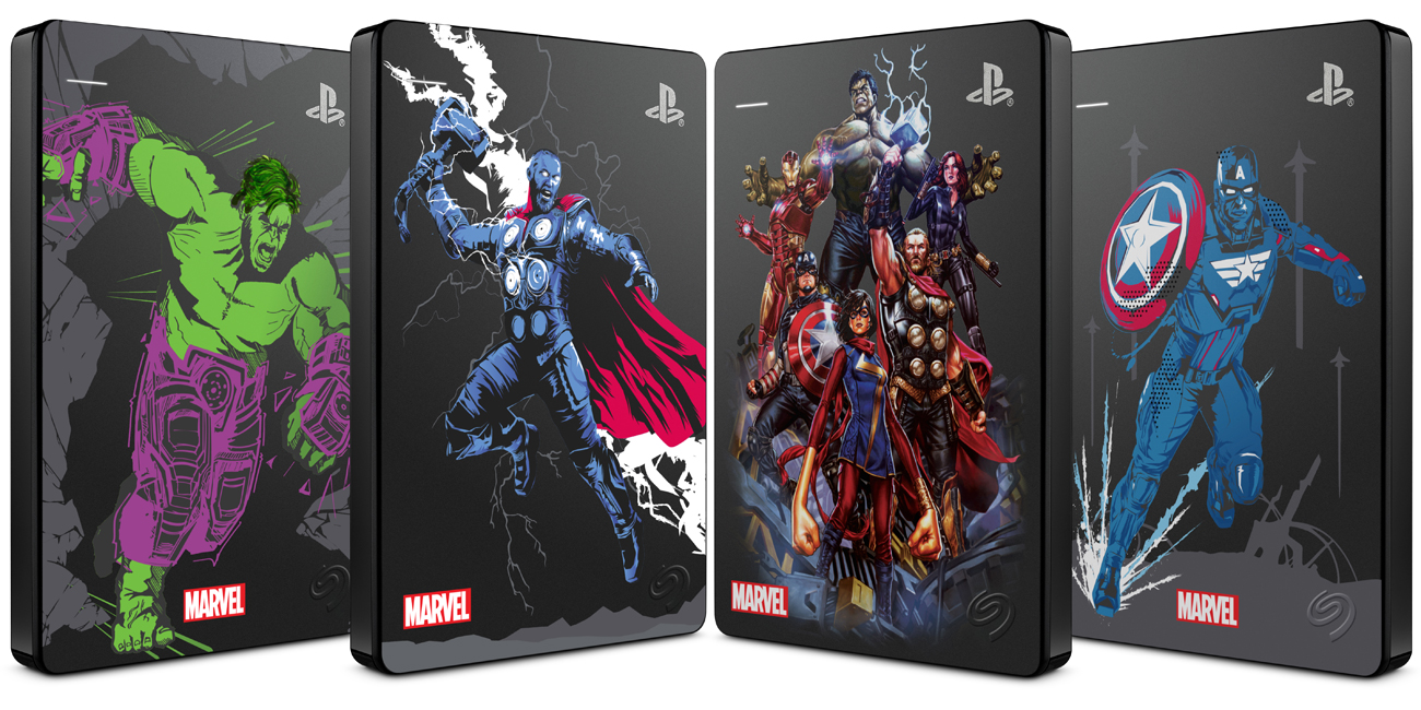 Dysk Seagate Game Drive Marvel Avengers Assembled 2TB