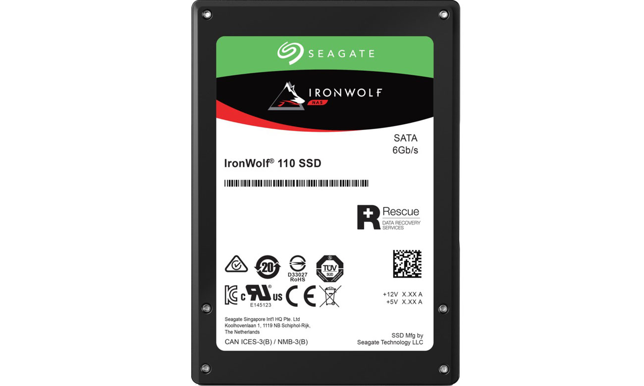 Dysk SSD Seagate IronWolf 110 480 GB