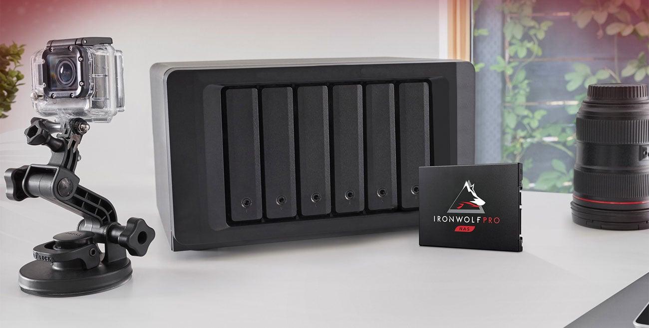 Dysk NAS Seagate IronWolf Pro 125 SATA SSD