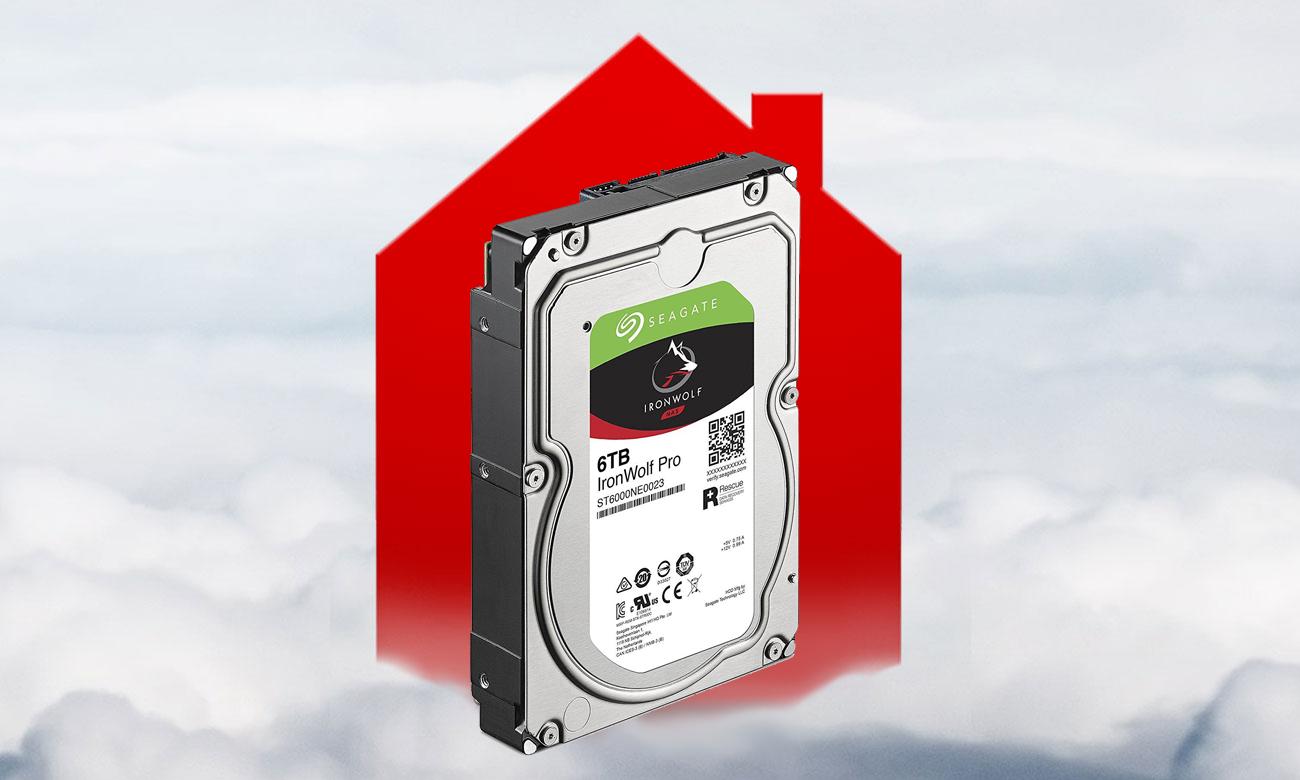 Seagate IronWolf Pro 6TB Prywatna chmura plików