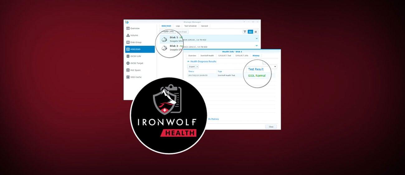 IronWolf Pro Health Management