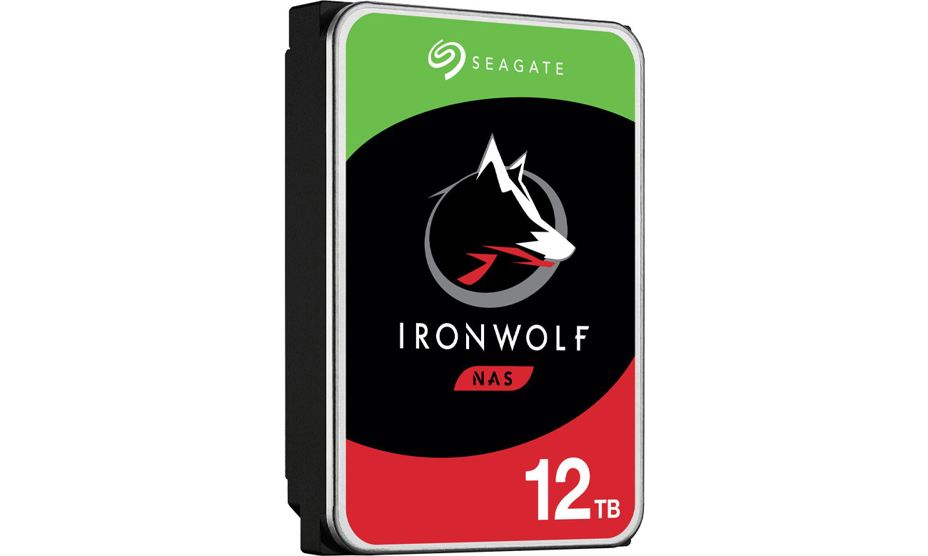 Dysk HDD Seagate IronWolf 12TB 7200obr. 256MB IronWolf ST12000VN0008