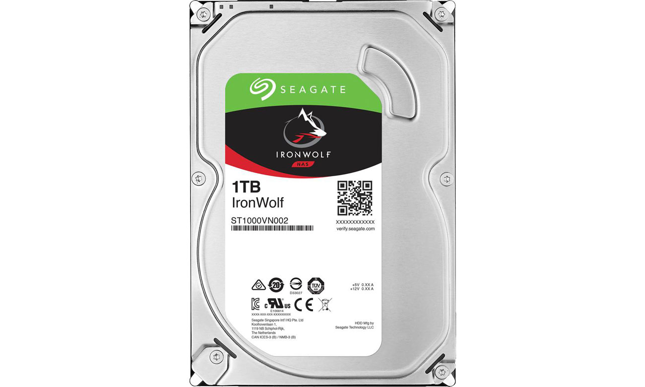 Seagate 1TB 5900obr. 64MB IronWolf