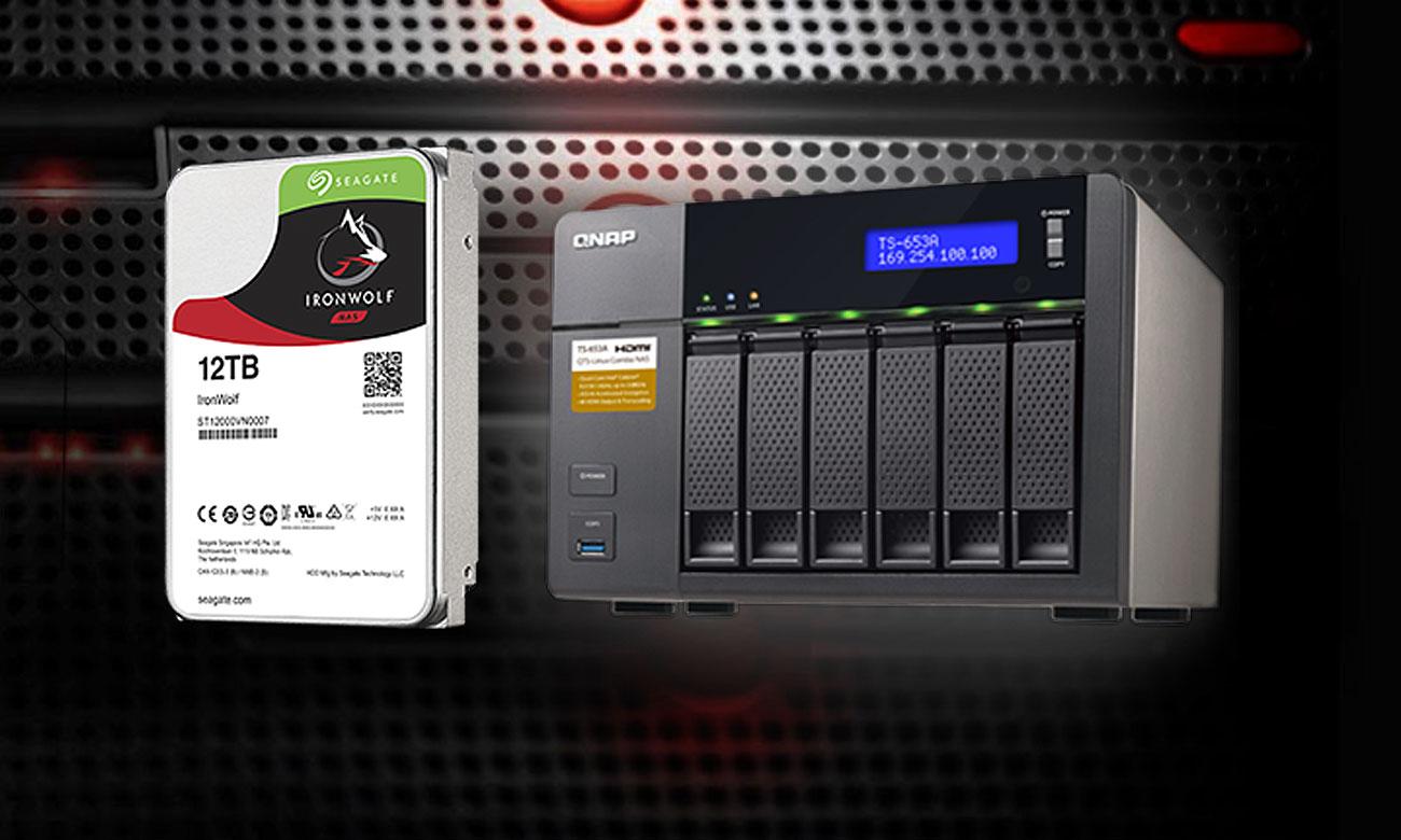 Seagate IronWolf 6TB Wytrzymałość, niezawodność, sprawność