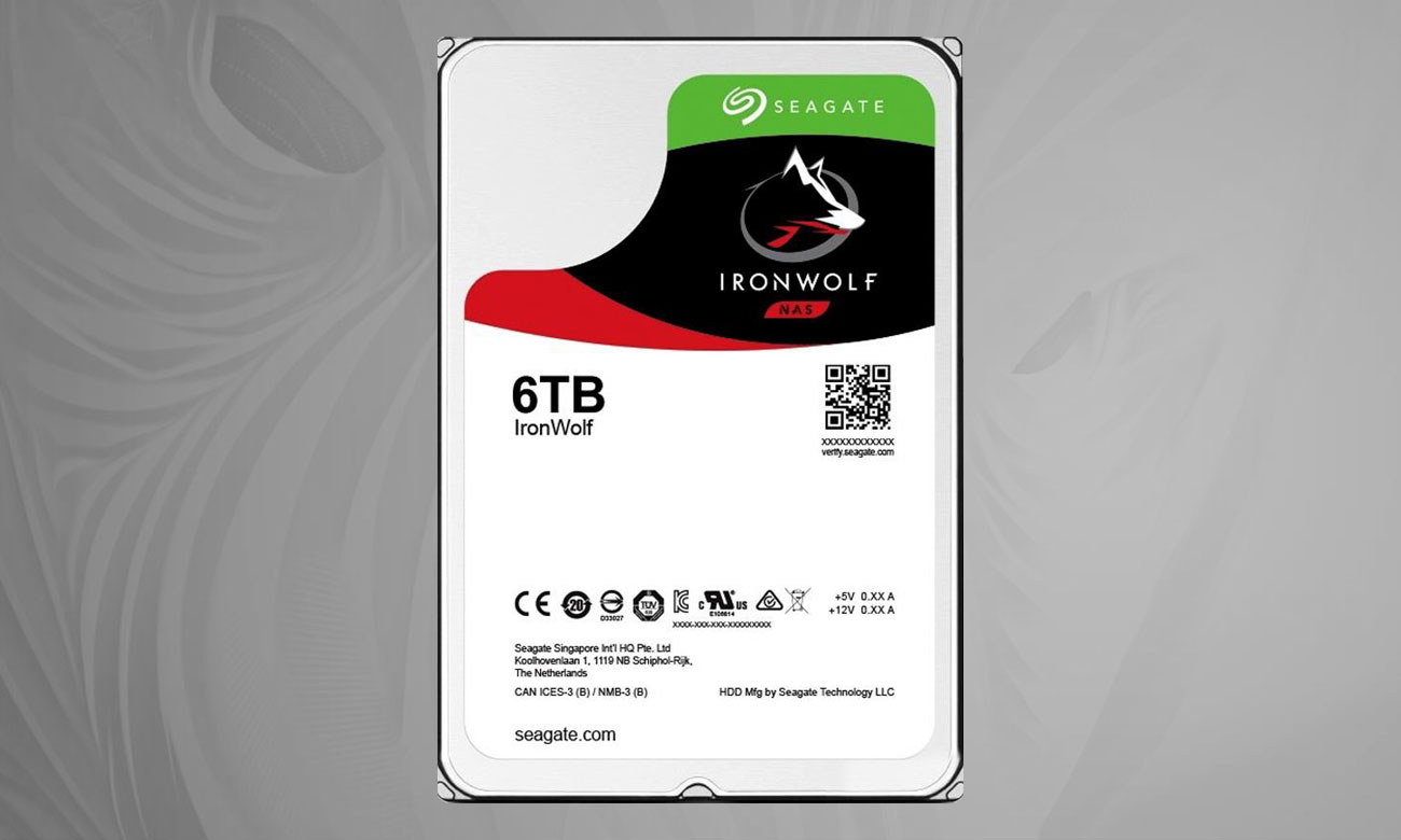 Seagate IronWolf 6TB Moc AgileArray