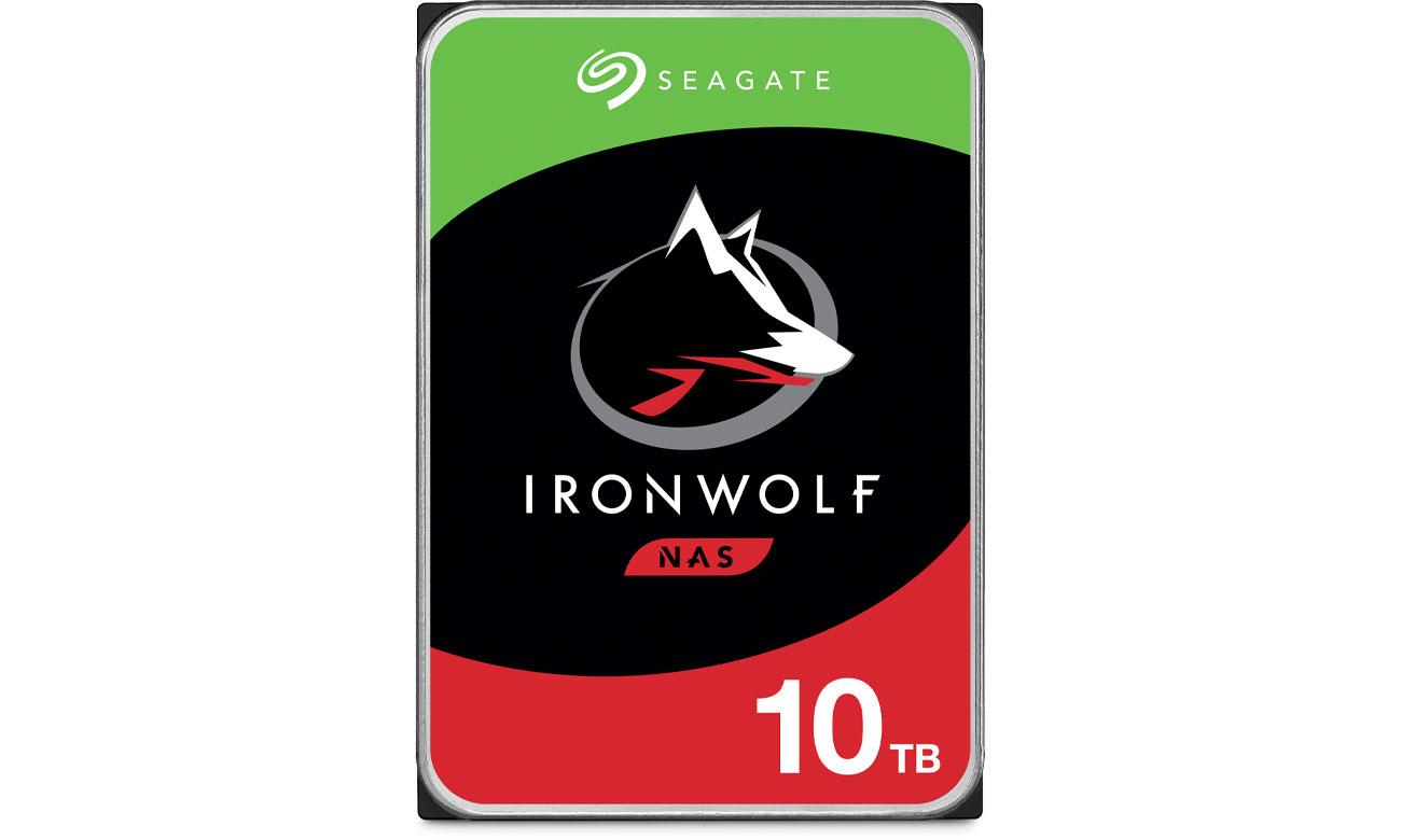 Dysk HDD Seagate IRONWOLF 10TB 7200obr. 256MB ST10000VN0008