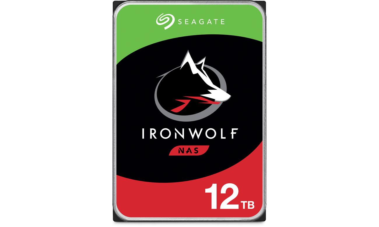 Dysk HDD Seagate IRONWOLF 12TB 7200obr. 256MB  ST12000VN0008