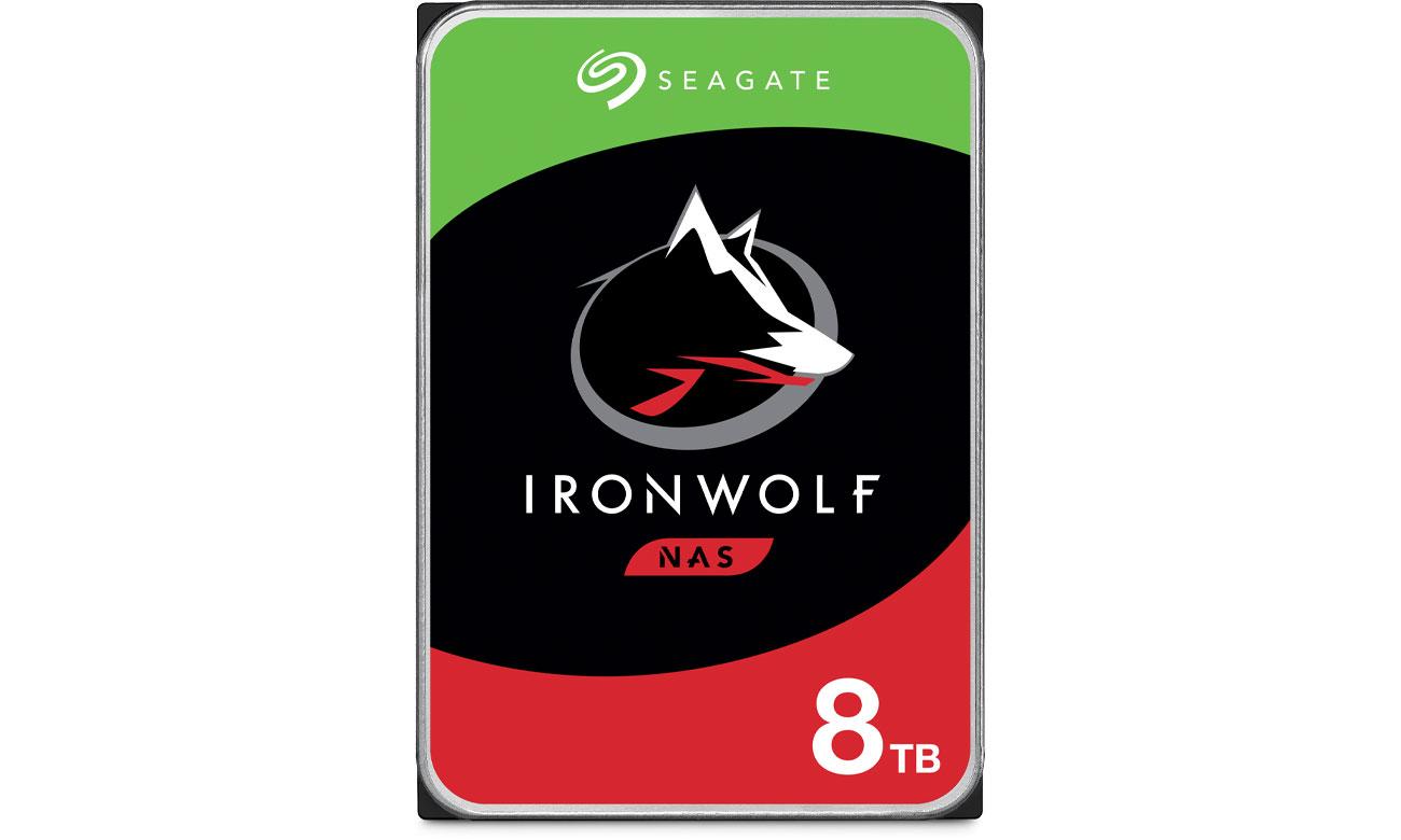 Dysk HDD Seagate IRONWOLF 8TB 7200obr. 256MB ST8000VN004