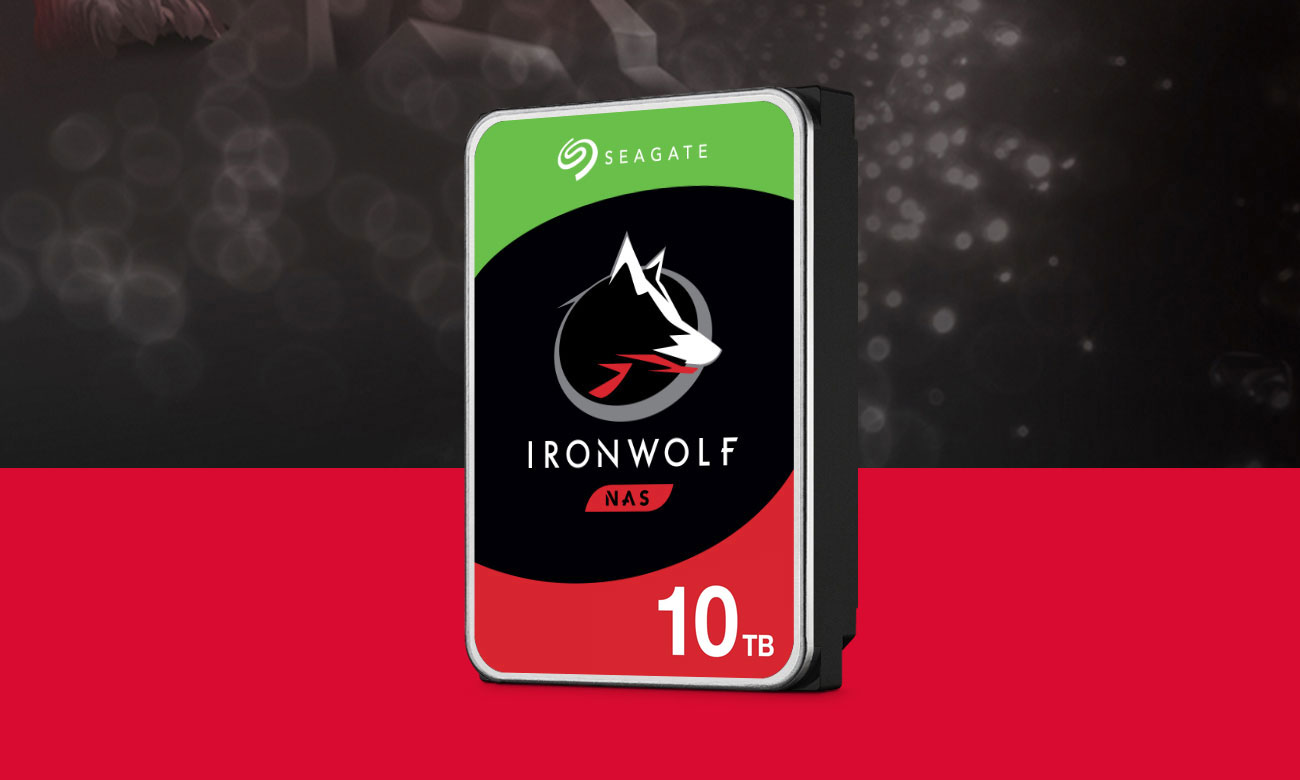 Seagate IRONWOLF 10TB 7200obr. 256MB ST10000VN0008