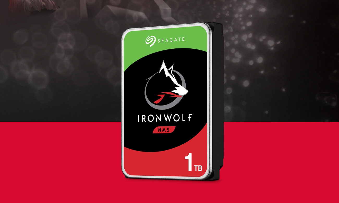 Seagate IRONWOLF 1TB 5900obr. 64MB ST1000VN002