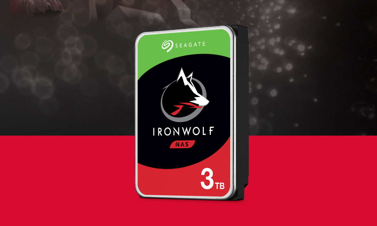 Seagate IRONWOLF 3TB 5900obr. 64MB ST3000VN007