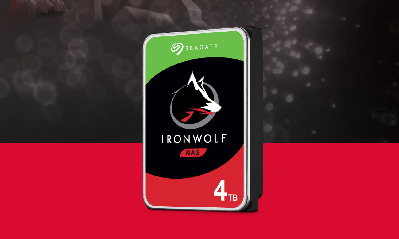 Seagate IRONWOLF 4TB 5900obr. 64MB ST4000VN008