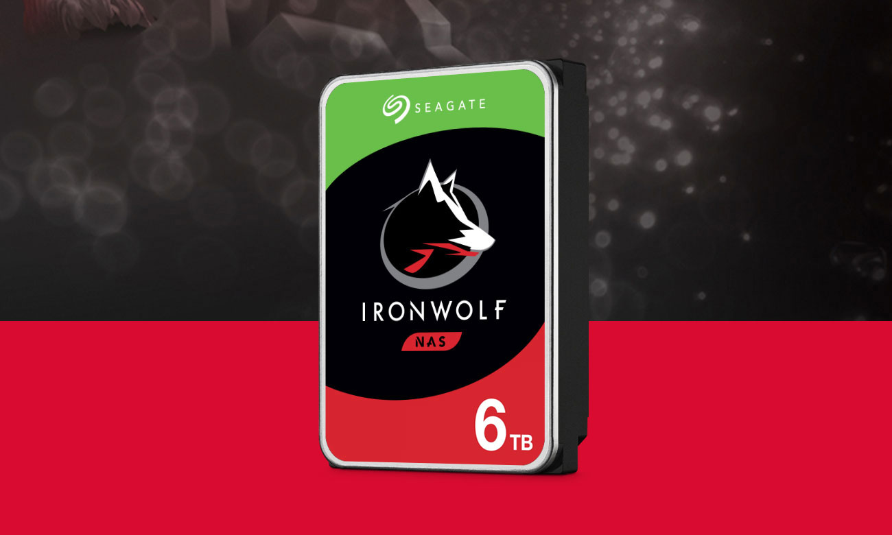 Seagate IRONWOLF 6TB 5900obr. 256MB ST6000VN001