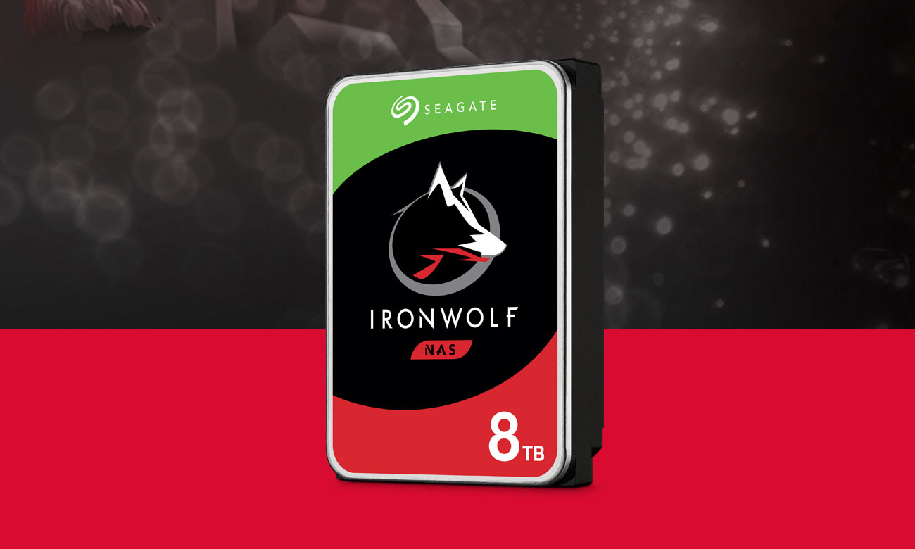 Seagate IRONWOLF 8TB 5900obr. 64MB ST8000VN004
