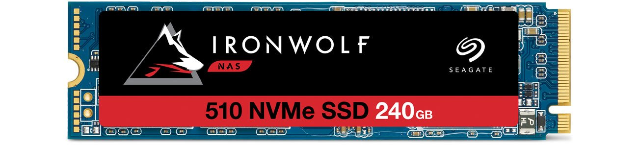 Dysk SSD Seagate 240GB M.2 PCIe NVMe Ironwolf 510 ZP240NM30011