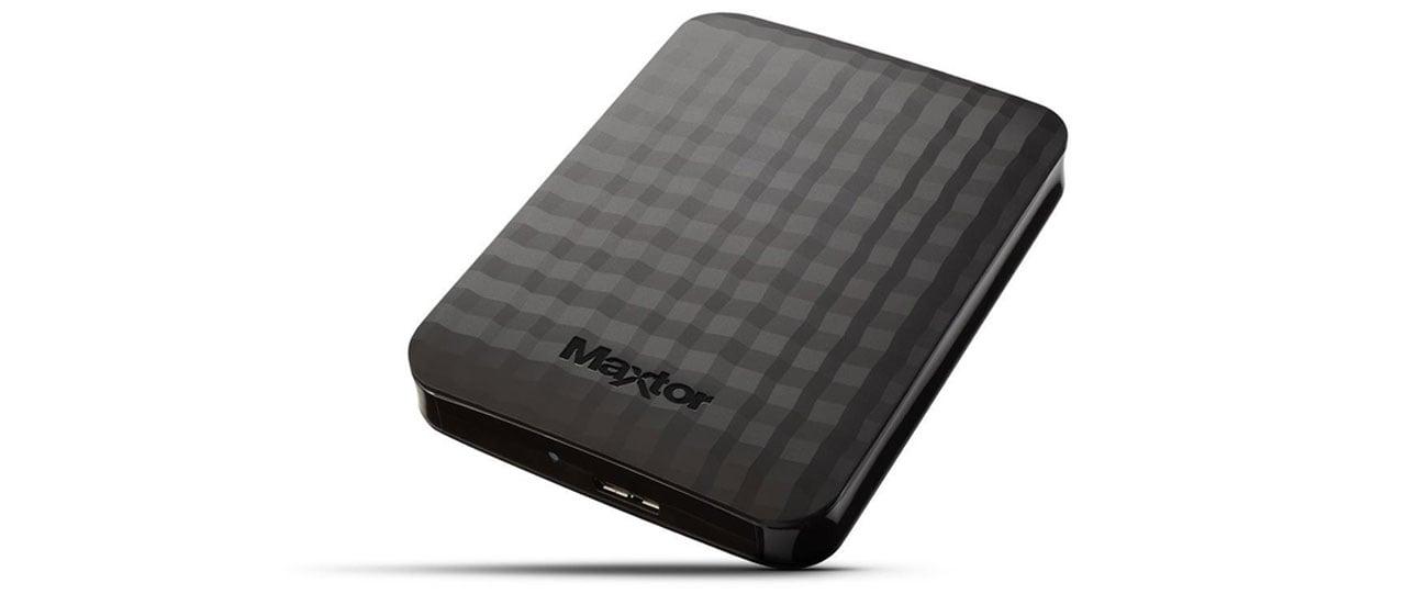Dysk twardy zewnętrzny Maxtor M3 Portable bezpieczne przechowywanie danych