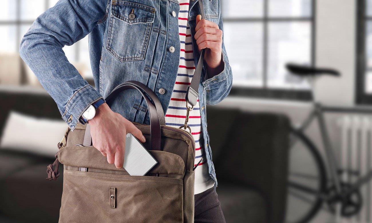 Seagate One Touch Portable - Aluminiowa obudowa