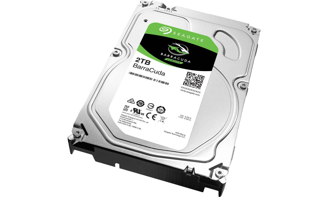 Dysk HDD Seagate BarraCuda 2TB 3.5'' 256mb cache st2000dm008