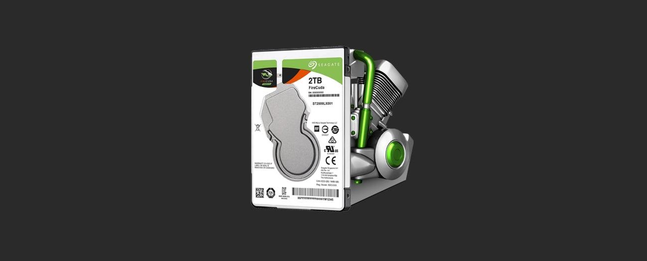 Seagate 2TB SSHD FireCuda  wydajność
