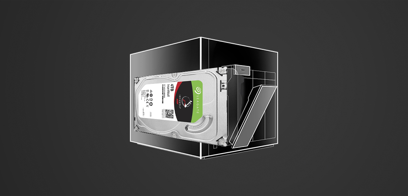 IronWolf Pro ST4000NE0025 dla firm lub do gier