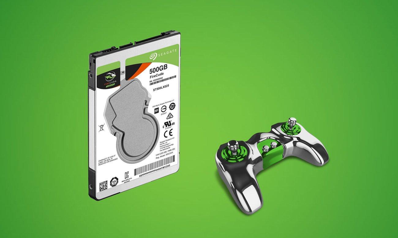 Seagate 500GB SSHD FireCuda do gier