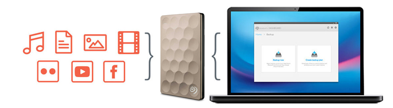 Seagate Backup Plus Ultra Slim - Seagate Dashboard