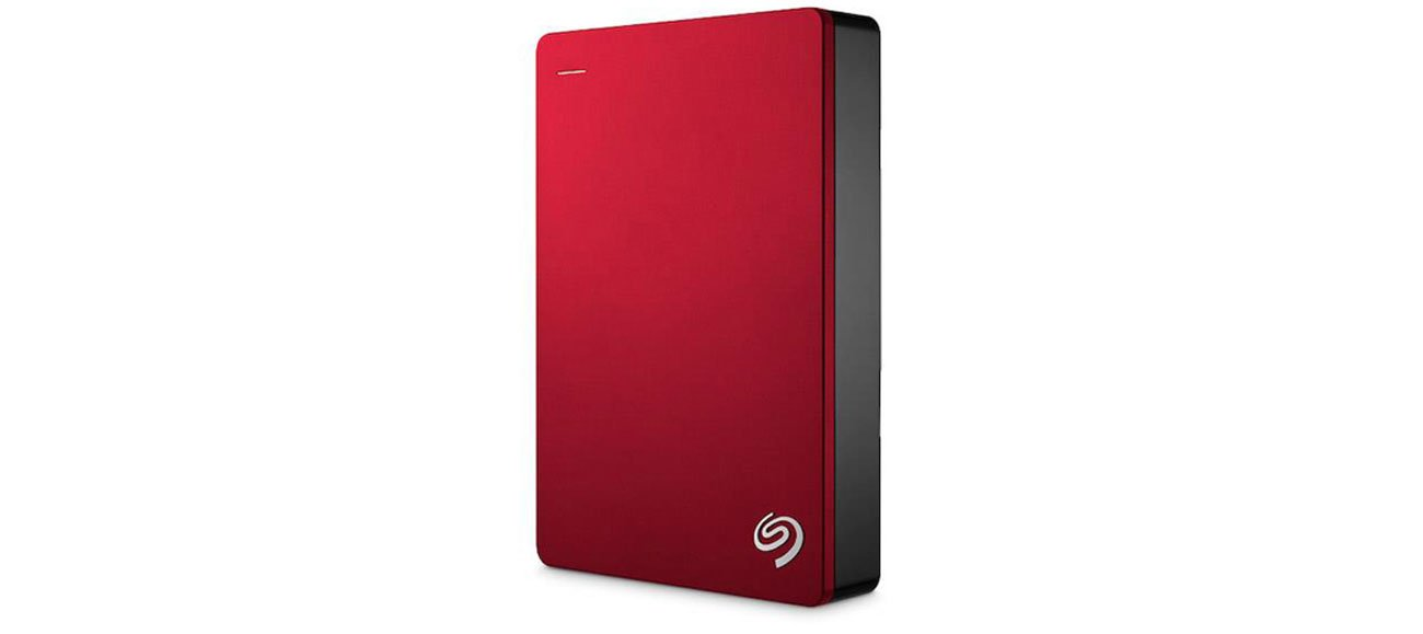 Seagate 4TB Backup Plus USB 3.0 czerwony cyfrowa biblioteka kopie zapasowe