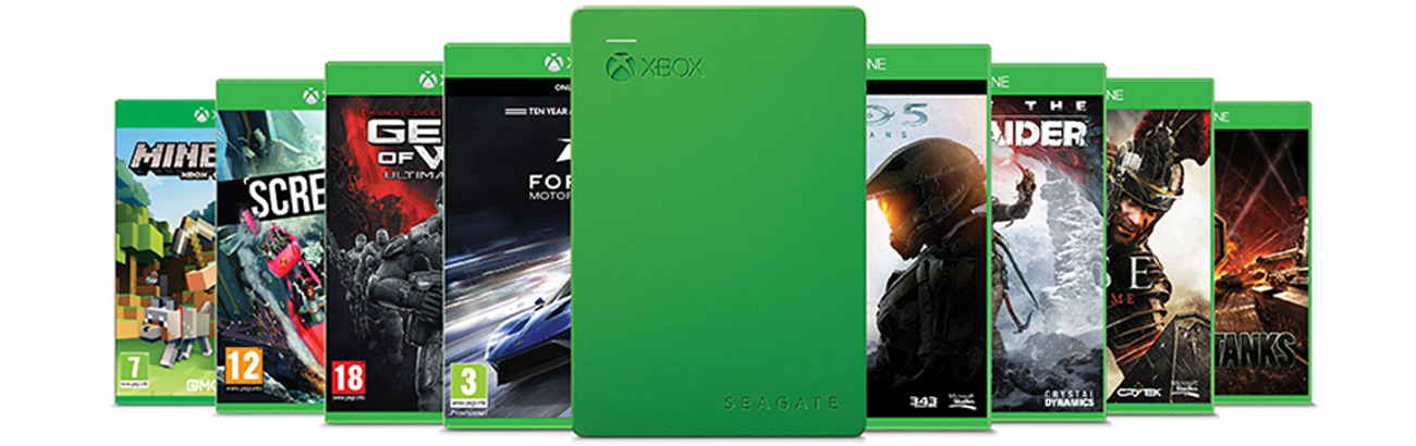 4TB Game Drive for XBOX USB 3.0
