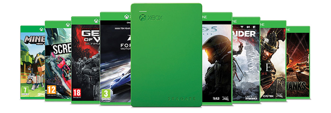 2TB Game Drive for XBOX USB 3.0