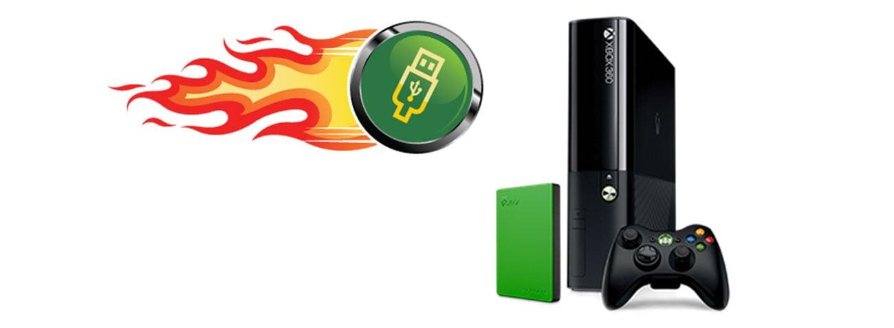 2TB Game Drive for XBOX USB 3.0 poprawa wydajności