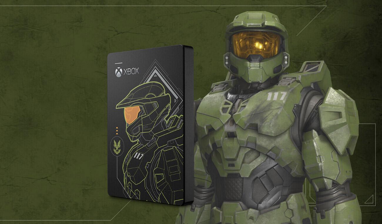 Dysk Seagate Game Drive 5TB Halo: Master Chief LE do konsoli Xbox