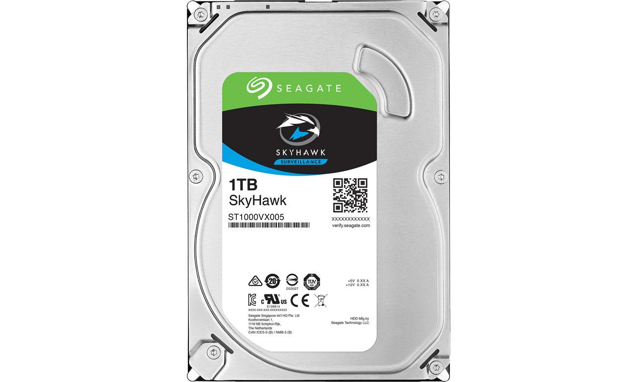 Dysk HDD Seagate 1TB 64MB SkyHawk ST1000VX005