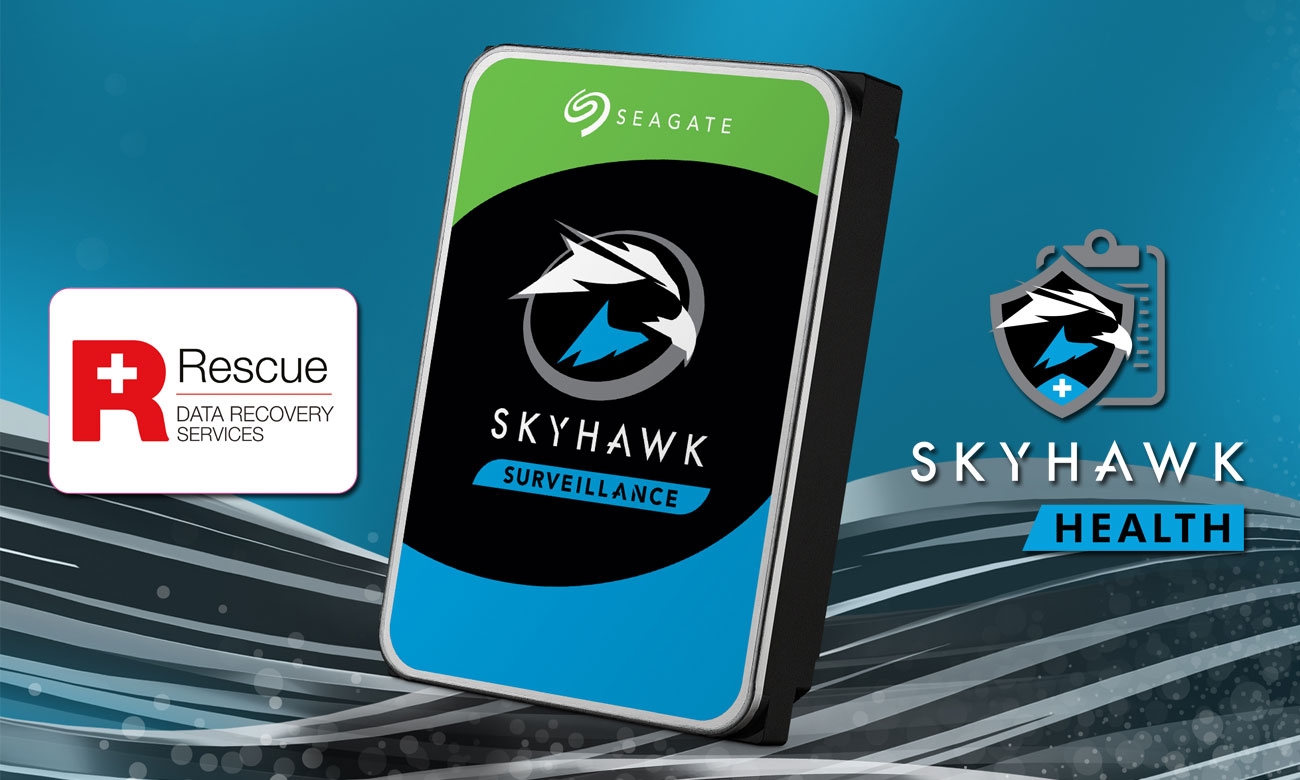 Seagate SkyHawk - Rescue Data Recovery, Health Management