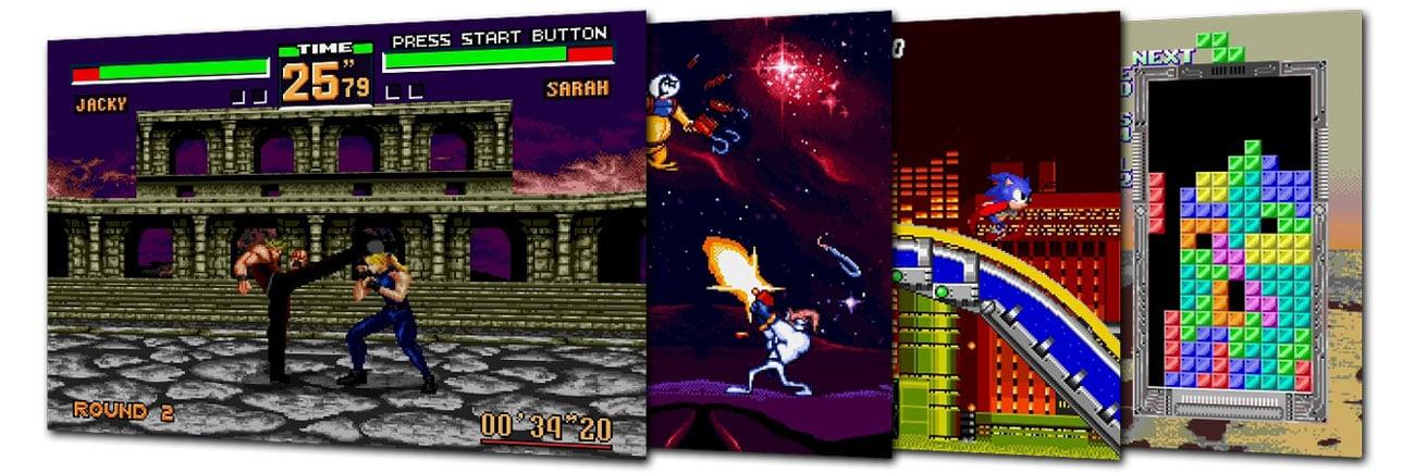Kultowe gry na SEGA Mega Drive Mini