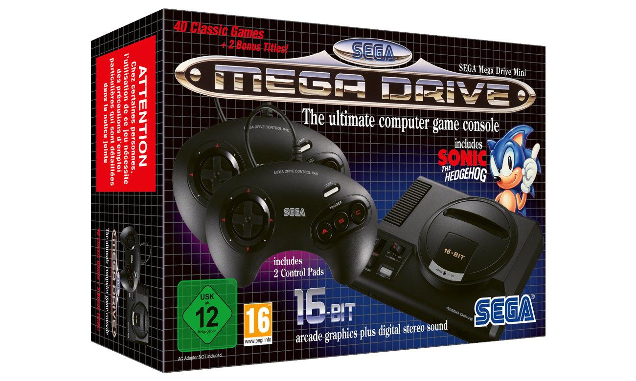 Pudełko SEGA Mega Drive Mini