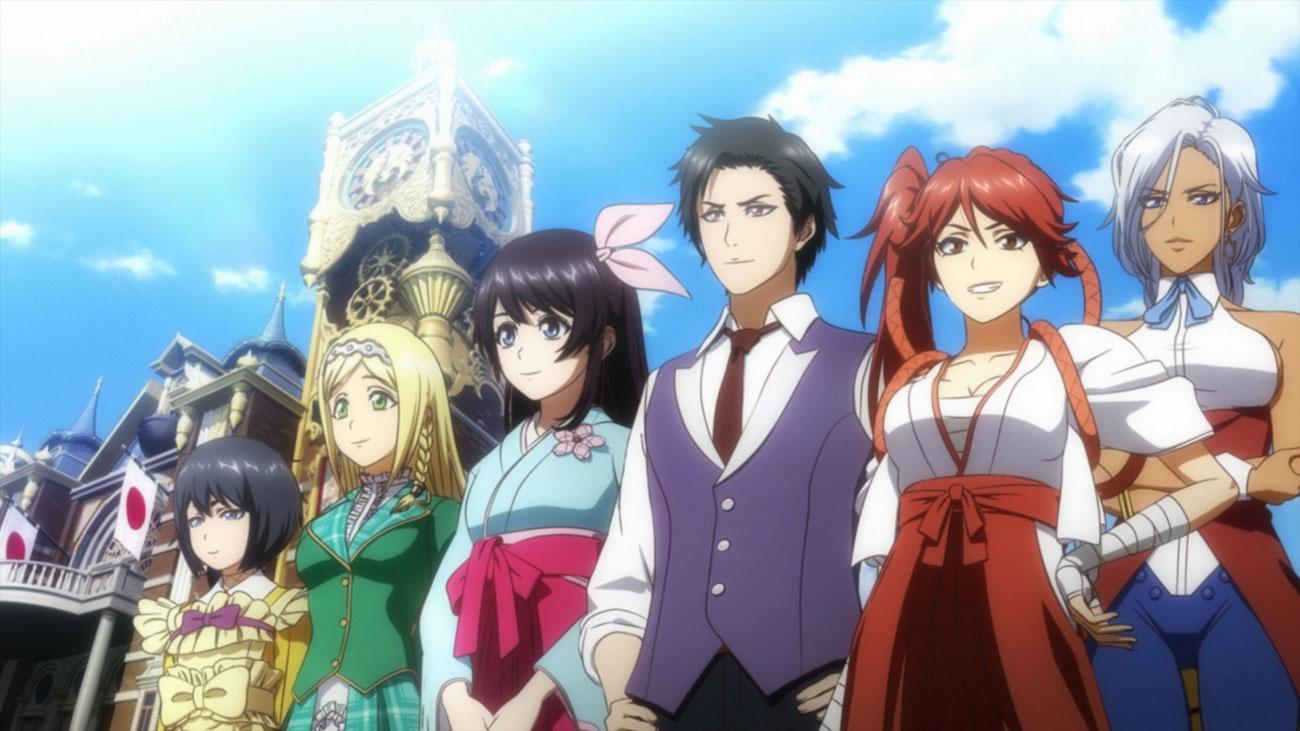 Sakura Wars - Rysowany styl anime