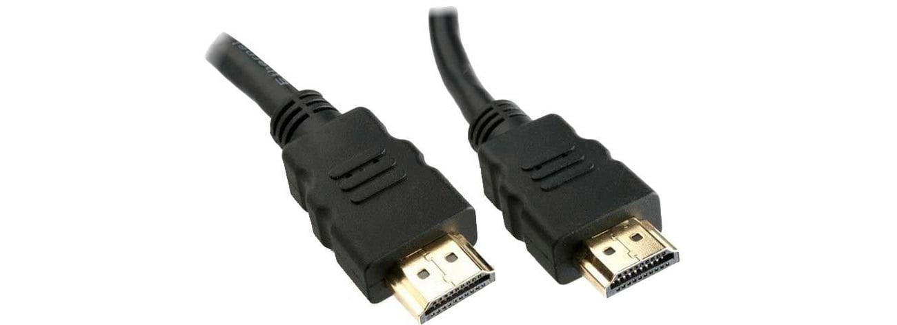 Kabel HDMI SHIRU HDMI-HDMI 5m do monitora, konsoli, telewizora CH-105