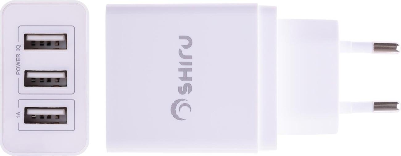 SHIRU SWC-02 3xUSB