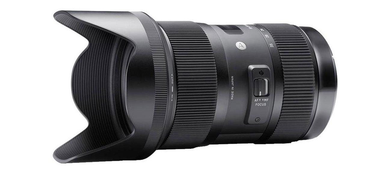 Obiektyw Sigma 18-35 f/1.8 A DC HSM Nikon konstrukcja optyczna nowej generacji
