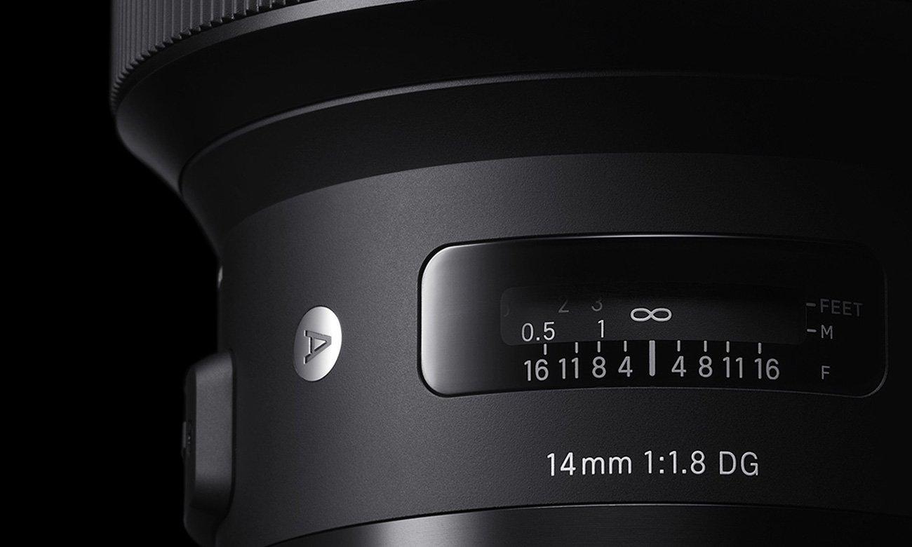 Sigma A 14mm f/1.8 DG HSM Canon