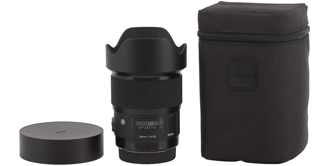 Sigma A 20mm f/1.4 DG HSM Canon