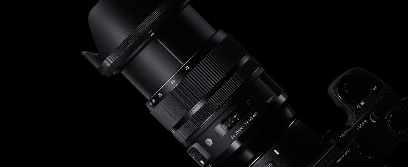 Obiektyw Sigma A 24-70mm Canon