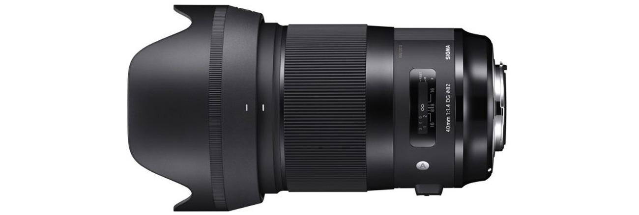 Obiektywy Sigma A 40mm f/1.4 DG HSM Canon